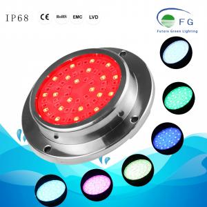 316 stainless steel resin filled Color Wall mounted LED Underwater Swimming Pool Light(90x20MM/120x22MM/150x23MM)